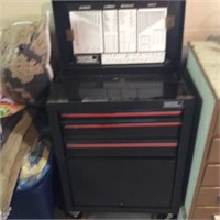 Master Mechanic Rolling Tool Box