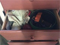 Sewing Chest with Contents