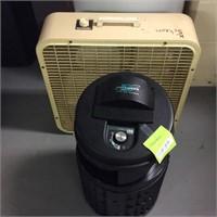 Defender Room Air Cleaner, Box Fan