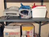 Contents of Closet in Basement