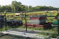 12 FT BLACK WIRE FILLED GATE