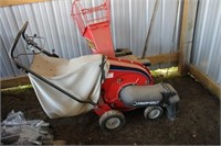 Troybilt 5HP Chipper / Vac! Like New!
