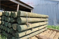 "Bundle of 28 Treated 6"" Posts"