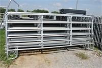 10 New 12 ft Galvanized Panels 10x times bid