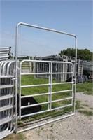 New 6 ft Galvanized Walk Thru Gate