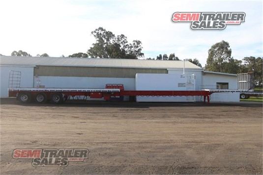 2011 Howard Porter Flat Top Road Train Extendable Semi Trailer Sales - Trailers for Sale
