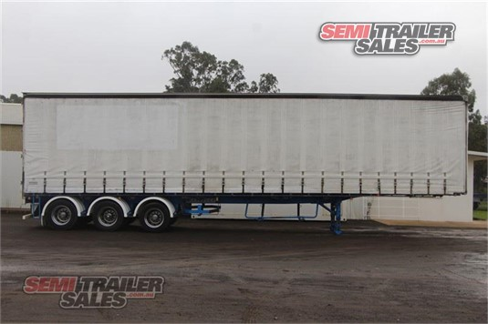 2005 Krueger 44FT 6 Inch Curtainsider Semi Trailer Semi Trailer Sales - Trailers for Sale