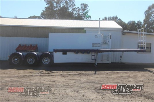2006 Maxitrans 12 PALLET FLAT TOP SEMI A TRAILER Semi Trailer Sales - Trailers for Sale