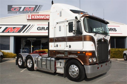 2009 Kenworth K108 Aerodyne Graham Thomson Motors  - Trucks for Sale