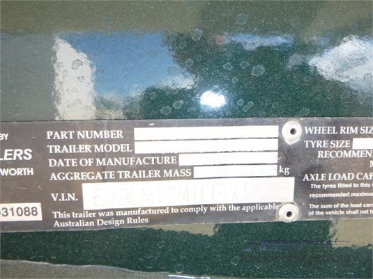 2015 Moore Tipper Trailer Western Traders 87 - Trailers for Sale