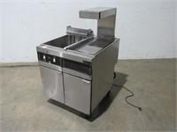 Hobart Deep Fryer with Warmer-