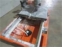 "Ridgid 7"" Wet Tile Saw-"