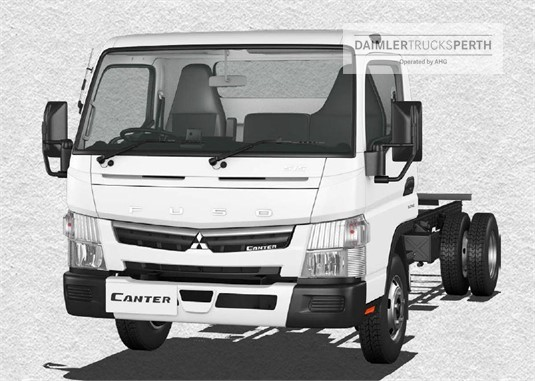 Fuso Canter 4x2 515 Wide Cab MWB 6 Sp. DCT