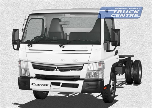 Fuso Canter 4x2 515 Wide Cab SWB 6 Sp. DCT