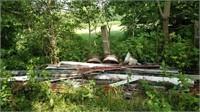 junk metal pile