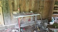 table with vise