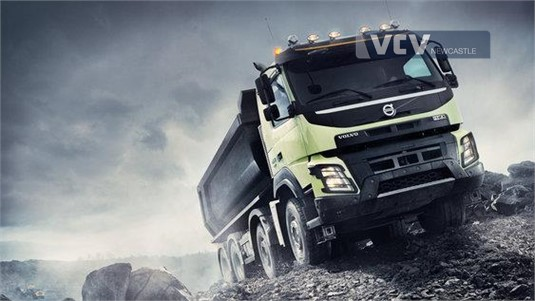 Volvo FMX13 HAX 6x4 Tractor Air Ride