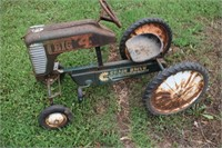 1950's Pedal Tractor