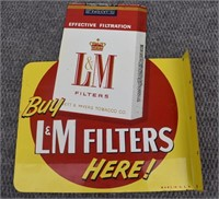 L&M Filters Sign