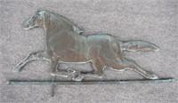 Copper Horse Weather Vane