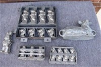 Early Candy Cake Molds