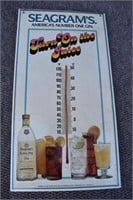 Seagrams 7 Thermometer