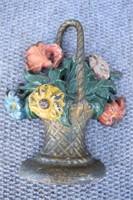 Castiron Flower Door Stop