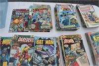 Old Comic Books Superman, etc