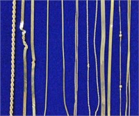 (10) PIECE GOLD JEWELRY GROUP