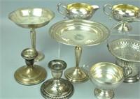 (12) PIECE STERLING TABLEWARES GROUP