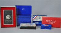 MOSTLY SILVER UNCIRCULATED & PROOF COINS & SETS