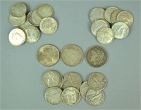 (31) PIECE US SILVER COIN GROUP