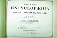 ICONOGRAPHIC ENCYCLOPAEDIA - 1857, 2 VOLS