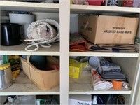 Large Shop Cupboard with Contents