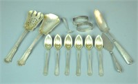 (13) PIECE ASSORTED STERLING FLATWARE GROUP