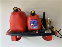 Gas Can and Shop Wall Station