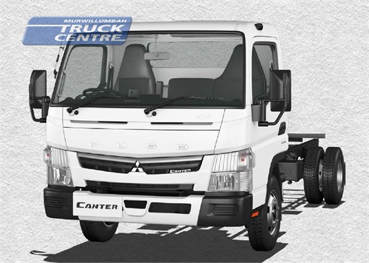 Fuso Canter 4x2 515 Wide Cab MWB 5 Sp. MAN