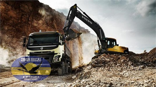Volvo FMX11 CAX 6x4 Rigid Air Ride Mining Support UFUP