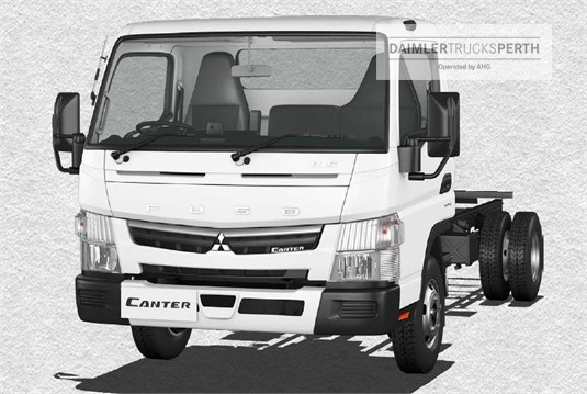 Fuso Canter 4x2 815 Wide Cab LWB 6 Sp. DCT