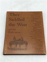 3 Western Saddles Books