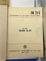 Korean War and Later US Army Tech Manuals