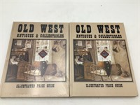 2 copies of Old West antiques and collectibles
