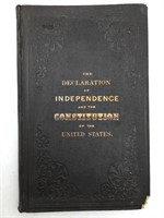 1866 Declaration of Independence and constitution