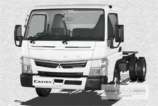 Fuso Canter 4x2 815 Wide Cab MWB 6 Sp. DCT
