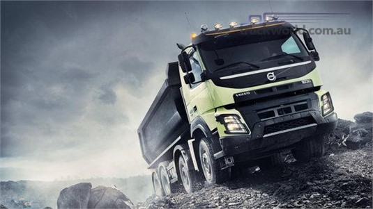 Volvo FMX11 HBX 6x4 Rigid B-Ride Construction