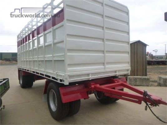 2013 Wese Stock Crate Trailer Western Traders 87 - Trailers for Sale