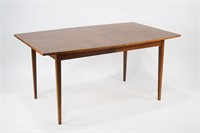 Walnut Dining Table with 2 Leaves