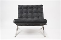 Barcelona Chair Attrb to Knoll