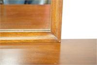 Walnut Broyhill Brasilia Large Mirror