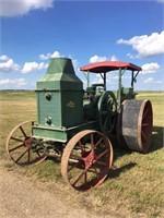 1921 Rumley Oil Pull Model H 1630 Tractor, s/n: